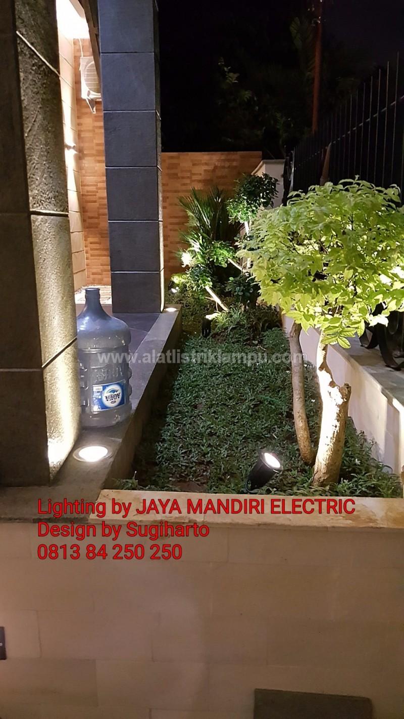 Desain Design Model Lighting Taman Rumah Hoek Hook Konsep Bali Asia Tropis Classic Klasik Minimalis Modern Jaya Mandiri Electric Kenari Mas Jakarta